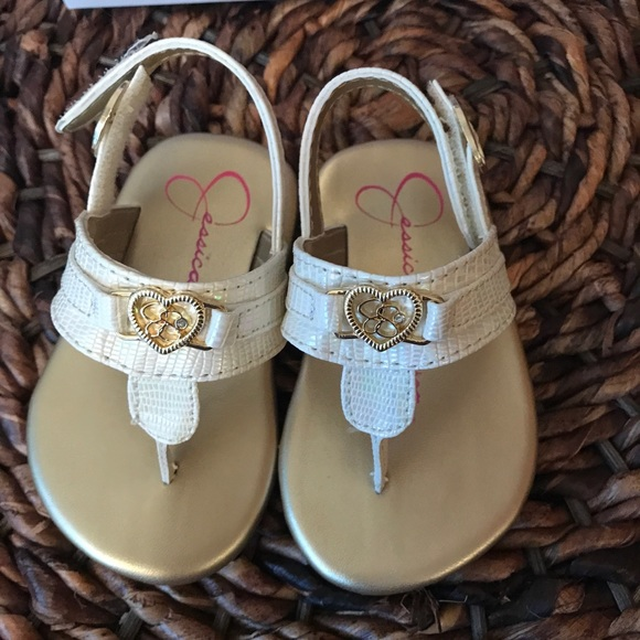 d05d1190492 Jessica Simpson Infant Girl Thong Sandals